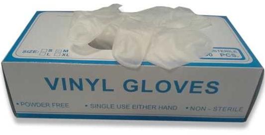 Powdered Vinyl Glove